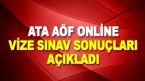 Atatürk Üniversitesi AÖF vize sonuçları açıklandı.2020 ATA AÖF online final sınavı ne zaman?